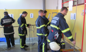 Tečaj gasilec 2013